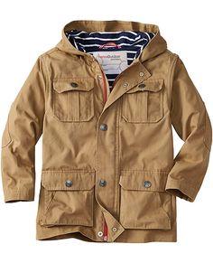 Canvas Utility Jacket from #HannaAndersson.