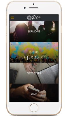 Church App - Beautiful Custom Mobile Apps for Churches Mobile Design, App Design, Church App, Small Groups, Mobile App, Apps, Engagement, Mobile Applications, App