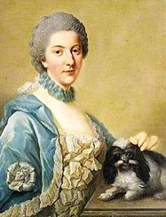 1765 Elisabeth Christine of Brunswick-Wolfenbüttel by Johann Georg Ziesenis (location unknown to gogm) Wm