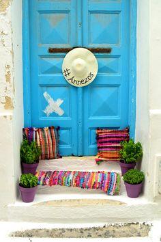 House of colours, Mykonos, Greece