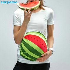 Whoa, Watermelon  Mater... is now available at Burt's Bargains. You can buy it here http://burtsbargains.com/products/watermelon-maternity-t-shirt?utm_campaign=social_autopilot&utm_source=pin&utm_medium=pin.