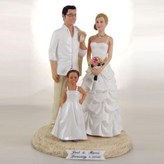 wedding cake toppers bride and groom | New Line of Realistic Custom Wedding Cake Topper Released