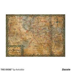Vintage poster navigation pirate monster old world map home bar shop the shire poster gumiabroncs Images