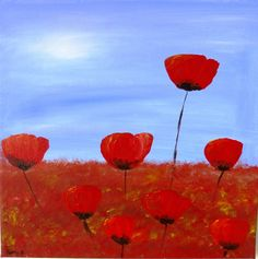 DailyPainting-Leipzig: Just Poppies - 06.09.2014