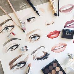 🎨 Watercolorist: @volobueva_natalia  #waterblog #акварель #aquarelle #drawing #art #artist #artwork #painting #illustration #watercolor #aquarela