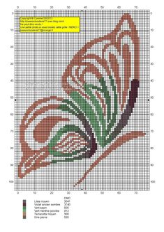 Papillon marron et vert copie