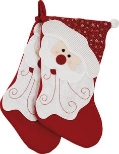 Start Christmas morning with these traditional Santa stockings from Argos. Make sure they're filled with goodies and watch your little ones fall in love.