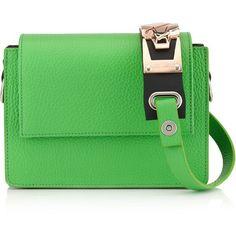 Amey Martin Spring Green Bicolour Leather Shouder Bag , shoulder bags, genuine leather handbags, purse shoulder bag, leather purse, leather shoulder handbags and man bag