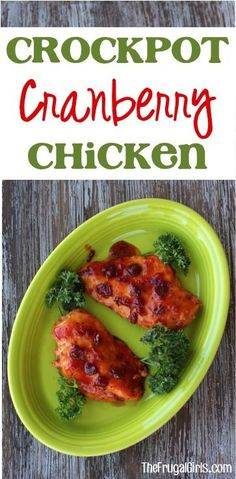 Crockpot Cranberry Chicken Recipe! ~ from TheFrugalGirls.com {such an easy and yummy Slow Cooker dinner... and a delicious taste of the holidays year round!} #slowcooker #recipes #thefrugalgirls