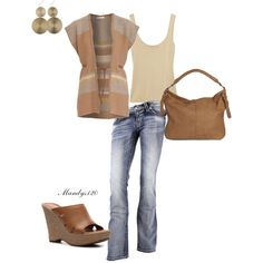 Relaxed tan, created by mandys120 on Polyvore