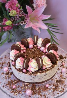 Mailiksen keittiössä Oreo, Cake, Desserts, Food, Tailgate Desserts, Deserts, Kuchen, Essen, Postres