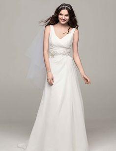 Wedding Dresses by David's Bridal | Confetti.co.uk | #weddingdress #bridalwear