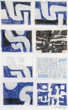 Ecole Art, Greek Art, Cubism, New Art, Mosaic, Male Artists, Drawings, Gypsum, Prints