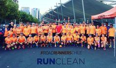 Excelente entrenamiento de 30k para los Maratones de Santiago Boston Londres y Montevideo #RunClean #RoadRunnersChile