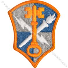Army Patch: Intelligence and Security Command - color