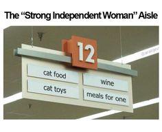 Cat food cat toys wine