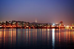 HanRiver Seoul. Many a night spent at this river withmy husband, planning our life together and the night away