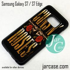 Guns And Roses Phone Case for Samsung Galaxy S7 & S7 Edge