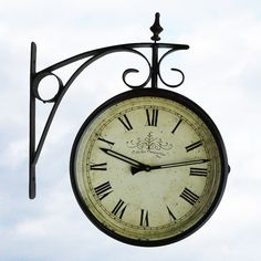 Solar Powered Outdoor Clock Why Are There So Few Of