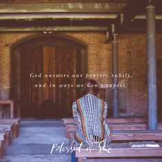 God Still Answers Prayers | Blessed is She daily devotional for women