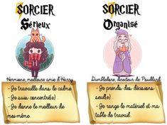 ~ Harry Potter : le comportement du bon SORCIER ~