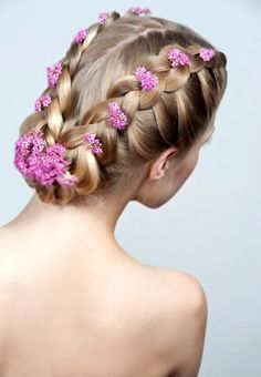 Thinking Of Attempting To Find Photos Of Perfect Wedding Hair Styles Options For Your Own Wedding Event? You Have Visit The Best Place, Just Simply Click The Picture And You'll Be Able To See Tons Of Wedding Hairstyles Photos. Wedding Hairstyle Images, Wedding Hairstyles For Long Hair, Hair Images, Hair Pictures, Hairstyles Pictures, Crown Hairstyles, Braided Hairstyles, Ribbon Hairstyle, Bridesmaid Hair Updo