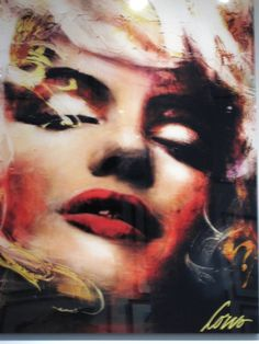 Corno Exhibit @ AKA Gallery | Vigilant Fashionista… Marilyn Monroe Art, Candle In The Wind, Korn, Texture Art, Beautiful Ladies, Les Oeuvres, Lady In Red, Halloween Face Makeup, Sketch