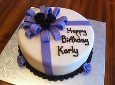 simple birthday cakes - Google Search