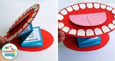 Dental Health Vocabulary: Interactive Speech Therapy Activities by teachingtalking.com