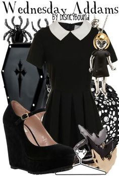 Disney Bound - Wednesday Addams (The Addams Family)