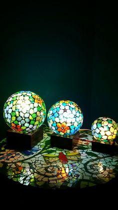 Luminarias venecitas mosaiquismo