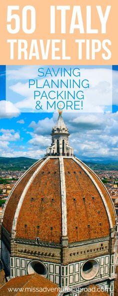 50 Italy Travel Tips