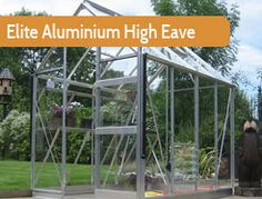 """6ft3"""" wide in multiple lengths. The High Eave adds extra height when compared with most. A very popular and practical greenhouse."""