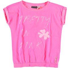 T-Shirt Knockout Pink | Tumble n Dry | Daan en Lotje https://daanenlotje.com/kids/meisjes/tumble-and-dry-t-shirt-knockout-pink-001338