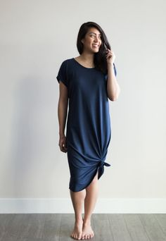 Whether you're hitting the beach or running errands this weekend our Slouchy Long Dress is the perfect choice for any occasion. Browse our styles by visiting our website. My Wardrobe, Capsule Wardrobe, Mid Length Dresses, Short Sleeve Dresses, Comfortable Outfits, Ethical Fashion, Spring Summer Fashion, Cute Outfits, Shirt Dress
