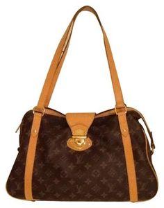 ef7c7eb04e33 Louis Vuitton Stress Pm Brown Lv Design Shoulder Bag 38% off retail