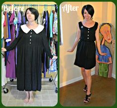 Saw her on Good Morning America. Her website (blog) is refashionista.net. It's amazing how she can refashion old pieces into modern clothing.