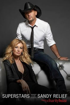 Meet Country Music Power Couple, Faith Hill and Tim McGraw, At Their April 12 or April 13 Las Vegas Show