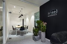 Muxin Design and Research Studio has recently completed the office design of Intoo in Shanghai's Zhangjiang Hi-tech Park. Visual Merchandising, Office Pictures, Publisher Clearing House, Relaxation Room, Retail Store Design, Branding, Design Furniture, Office Interiors, Shanghai