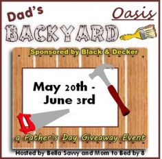 Dad's Backyard Oasis