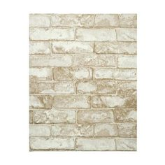 York Wallcoverings RN1030 Rustic Brick Wallpaper Slate Gray / Coconut ($64) ❤ liked on Polyvore featuring home, home decor, wallpaper, york wallcoverings, rustic wallpaper, removable wallpaper, embossed wallpaper and pattern wallpaper