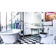 Clawfoot Bathtub, Say Hello, Showroom, Boutique, Pop, Interior Design, Bathroom, Luxury, Instagram