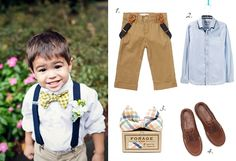 Not sure how to dress for summer weddings. Taking inspiration from adorable little boys, since dresses aren't really my thing.