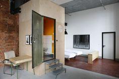 Appartement / Zimmer #3 - Badbox und Eingang