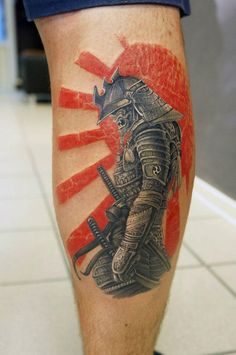 Get to witness the most amazing samurai tattoos design 2019 here. We have the most splendid art styles that will tell you all the samurai tattoo meaning as well as the samurai tattoo back,arm, and even your leg. Thigh Tattoo Men, Leg Tattoos, Body Art Tattoos, Tattoos For Guys, Cool Tattoos, Tatoos, Japanese Tattoo Art, Japanese Sleeve Tattoos, Japan Tattoo Design