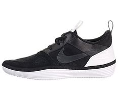 new arrivals 73aa1 5760f Nike Mens Solarsoft Run BlackAnthraciteWhite Running Shoe 11 Men US  Want  additional info
