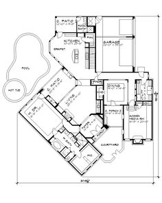 Floor Plan ~  The Cariati House