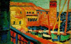 Le phare de Collioure par André Derain
