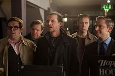 """The first still from """"World's End"""" with Simon Pegg, Nick Frost, and Martin Freeman. Can't wait for this film!!!"""