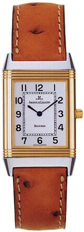 Q2505410 NEW JAEGER LECOULTRE REVERSO CLASSIC MENS WATCH Usually ships within 8 weeks- FREE Overnight Shipping - NO SALES TAX (Outside California) - WITH MANUFACTURER SERIAL NUMBERS - White Dial - Manual Winding Mechanical Movement - 3 Year Warranty - Certificate of Authenticity - Scratch Resistant Sapphire Crystal  - Solid 18K Yellow Gold with Steel Case - Brown Leather Strap  - Manufacturer Box